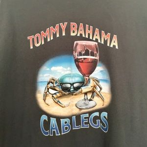 Tommy Bahama cablegs graphic tshirt